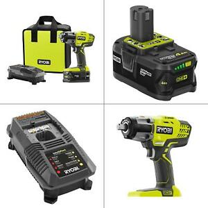 18-Volt ONE+ Lithium-Ion Cordless 3-Speed 12 in. Impact Wrench Kit with (1