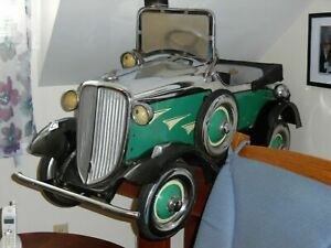 This Car Belong In A Pedal Car Museum 1920s Steelcraft Shovel Nose Buick Pedal C