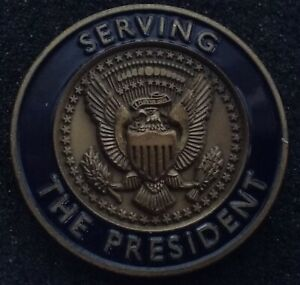 AUTHENTIC President Police White House Military Office WHMO POTUS Challenge Coin