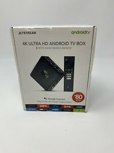 Jetstream AGT418 4K Ultra HD Android TV Box - Black