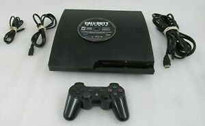 Sony Playstation 3 PS3 Slim 320GB Game Console CECH-3001B