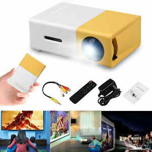 Portable 1080P Home HD Projector LED Video Theater Multimedia HDMIUSBSDAVTV