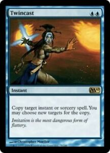 Twincast - Magic 2010 - Light Play English MTG Magic FLAT RATE SHIP
