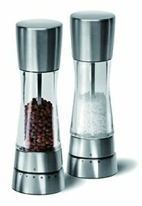 Cole  Mason Gourmet Precision Derwent Salt and Pepper Mill Gift Set - Acrylic a