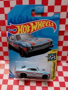 2019 Hotwheel ( 67/250) '68 Chevy Nova #7/10 HW Speed Graphics Gulf