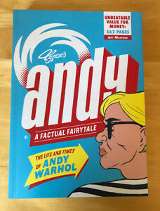 NEW Andy SIGNED INSCRIBED Life and Times of Andy Warhol: by Typex 1st Edition $62.00