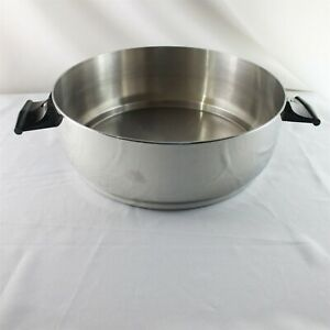 Rena Ware Stainless 188 Dome Lid Pan Pot Ultra Ply 4 L 4.2 Qt Multi Ply USA