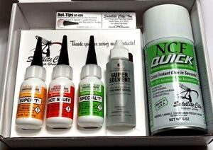 SATELLITE CITY HOT STUFF PRO GLUE  KIT FOR TIP REPAIR & MORE FAST FREE SHIPPING