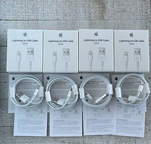 For Apple iPhone XRXSX876 Original OEM Lightning USB Charger Cable 2M 6FT $45.99