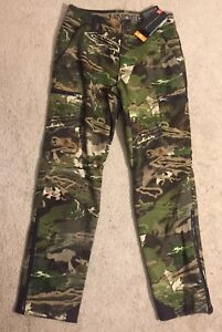 Under Armour Mid-Season Hunting Pants Wool Forest Camo 1297843 NEW Women's $225