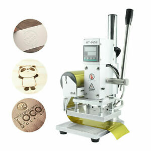 Digital Hot Foil Stamping Machine Logo Embossing Bronzing Leather PVC Paper Card