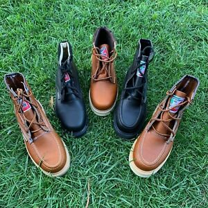 BOTAS DE TRABAJO MENS WORK BOOTS MADE IN MEXICO 100% LEATHER WELT HAND MADE