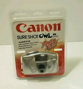 Canon Sure Shot Owl PF Date 35mm Point Shoot Camera Vintage Camera Brand New