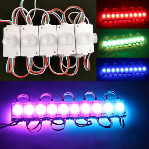 Lot of 500 1000 WS2811 5054 DC5V RGB Pixel LED Module Waterproof Light Sign Lamp