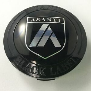 Asanti ABL22 ABL23 ABL24 Black Label Black 3 Center Cap 1534S014
