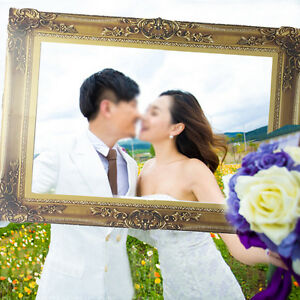 Intimate lover Photo Frame Frame For Photo Booth Props Wedding Party 48cm x 35cm
