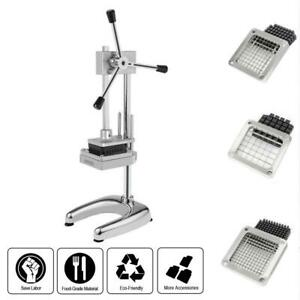 Potato Vegetable Fruit Dicer Onion Tomato Slicer Chopper Restaurant Commercial