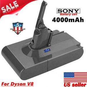 New 4000mAh Battery SV10 For Dyson V8 Absolute Animal Vacuum Cleaner Sony Cell