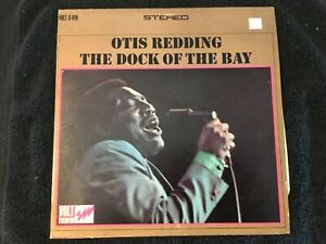 OTIS REDDING Dock Of The Bay S-419 Volt Records Stereo 1st Pr. Vinyl LP 1968