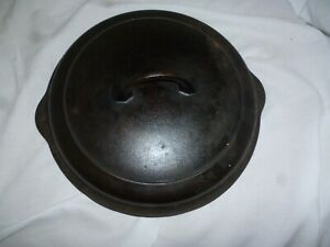 Griswold Cast Iron Lid No. 8 Erie PA 1098C Skillet Lid Cover Good Condition
