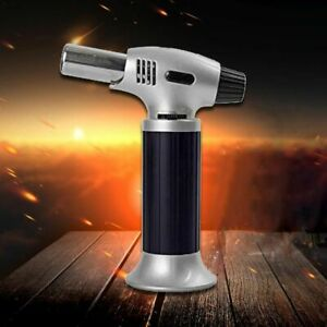 Refillable Kitchen Blow Torch Welding Gun Outdoor BBQ Cooking Safe Creme Brulee