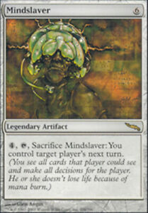 Mindslaver - Mirrodin - Heavy Play English MTG Magic FLAT RATE SHIP