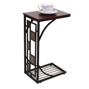 Coffee Tray Side Sofa Table Ottoman Couch Room Console Stand End TV Lap Snack BA