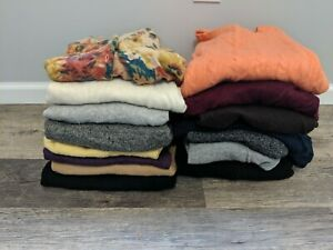 15 Cashmere Sweaters Craft Sewing Projects Multicolors Men's Women's Cutter #2