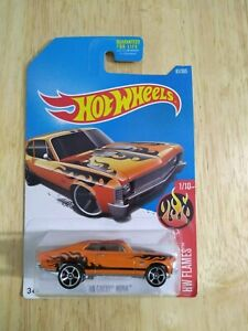 2015 HOTWHEELS_'68 Chevy Nova_Orange_HW Flames_Mattel_NIP