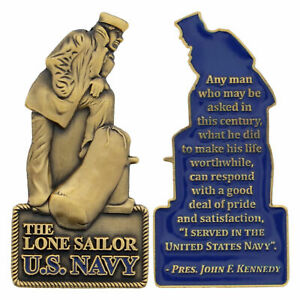 US Navy Lone Sailor Challenge Coin CC 2051 $14.99