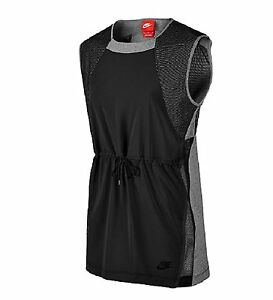 Nike Womens Bonded Sleeveless Sport Casual Top 726017 091 size S RETAIL $65 new $19.99