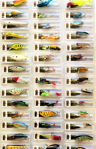 5 25 Set Assorted Bass Trout Walleye Pike Crankbait Fishing Minnow Lures Hooks
