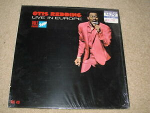 Otis Redding- Live In Europe LP 1967 Volt  416  COVER ONLY near mint has shrink