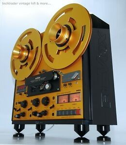 ReVox PR99 MKII - retro gold edition - techtrader design...