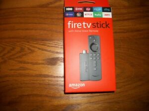 4*Amazon Fire TV Stick with NEW Alexa Voice Remote Streaming 2nd Gen 2019 model