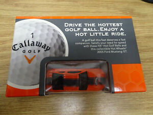 Callaway Golf Hot Wheels 2005 Ford Mustang GT - Brand New In Box