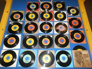 60's/70's Records 45 RPM BOBBY VINTON Collection of 23 different records / 1 PS