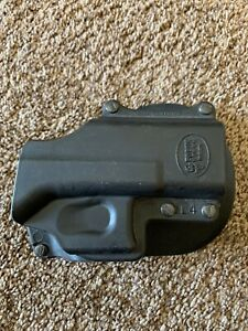 Fobus GL4RH Black RH Self Locking Belt Holster For Glock 29/30/39 S
