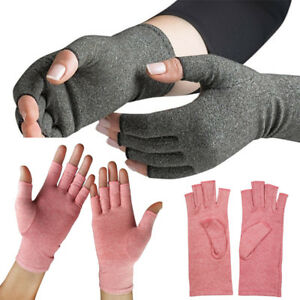 Arthritis Compression Joint Finger Pain Relief Gloves Hand Wrist Support Brace. $4.39
