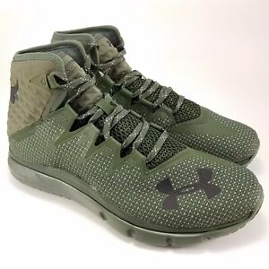 Under Armour Project Rock Delta Training Shoes Green 3020175-300 Men's Size 8.5