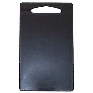 "Linden Sweden Anita Cutting Board with Handle- Black, Small - 9,25"" x 6"