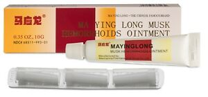 Mayinglong1 Hemorrhoids Ointment Cream 10 Grams US English Label