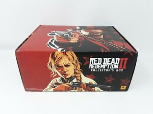 Red Dead Redemption 2 Collectors Box ALL ITEMS INCLUDED NO GAME Never Used