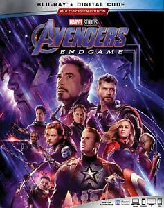 Avengers: Endgame (Blu-ray, Digital, 2019) w/Slipcover NEW
