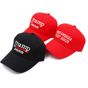 Men Women 2020 Trump Letter Printing Baseball Hat Cap for Supporters
