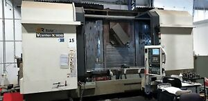 Victor Vcenter x300  simultaneous 5-axis machining on large parts up to 1100mm