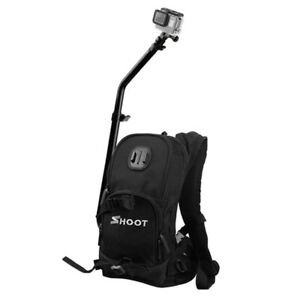 SHOOT Backpack Quick Assembly Guide Sports Bag for GoPro Hero 76543+3  T8Z4