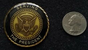 AUTHENTIC White House Military Office WHMO President Security US Challenge Coin