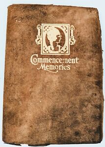 1924 Female Academy Highland Hall PA Commencement Memories Graduation Book RARE