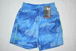 Under Armour Boys Toddler Shorts 24 Months 27375051-48 Blue NWT